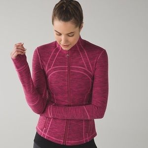 LULULEMON define zip up in dew berry